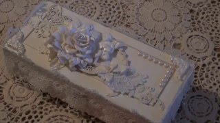 Wild Orchid Crafts - Shabby chic Gift box