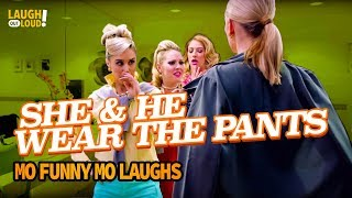 She and he wear the pants  | Mo Funny Mo Laughs  | LOL Network