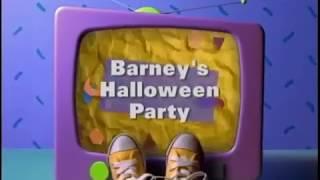 Barney's Halloween Party Custom Theme