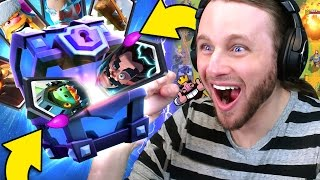 Clash Royale: 12 SUPER MAGICAL CHESTS | ALL LEGENDARIES?!