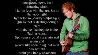 Ed Sheeran   Barcelona Lyrics