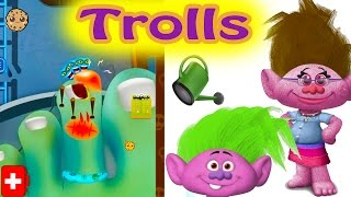 Trollify Yourself Online Custom Trolls Maker Game + Play Doctor and Fix Broken Germ Filled Toe