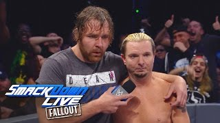 What you missed between Dean Ambrose & James Ellsworth: SmackDown LIVE Fallout, Oct. 18, 2016