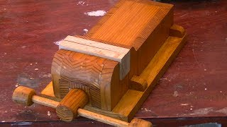 Home Made Wooden Vise - Woodworking - Part one
