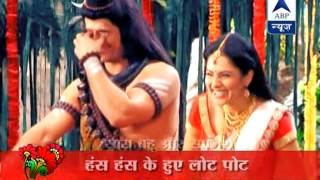 Behind the scene giggles on the sets of Mahadev