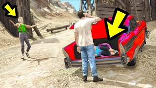 WHAT HAPPENS IN THE CAMP AFTER A DELIVERY? (GTA 5)