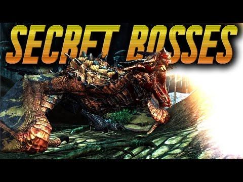Skyrim Remastered Secrets - TOP 3 HIDDEN BOSSES ! (Secret Boss Fights Of Skyrim)