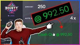 1000 Dollars, 10 Seconds, 1 CLICK AWAY! Gambling on CSGOBounty!