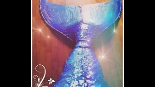 DIY PERFECT & SWIMMABLE MERMAID TAIL