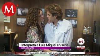 Así luce Diego Boneta como Luis Miguel en serie de Netflix