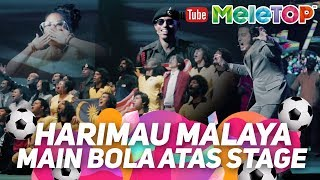 Harimau Malaya main bola dekat atas stage | OlaBola The Musical