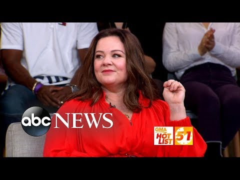 Xxx Mp4 GMA Hot List Melissa McCarthy Reflects On Her High School Hairstyle 3gp Sex