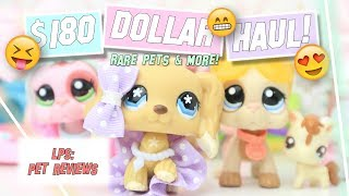 LPS: $180 Dollar LPS Unboxing Haul! (Cocker Spaniel #748, Great Dane #1647 + More!)