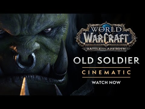 """Cinematic: """"Old Soldier"""""""