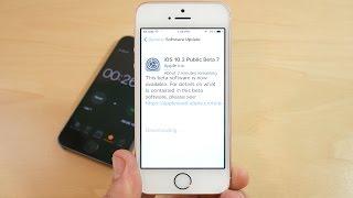 iPhone SE iOS 10.3 Beta 7 Review