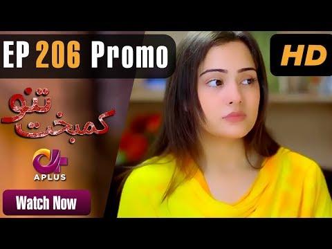 Drama | Kambakht Tanno - Episode 206 Promo | Aplus Dramas | Shabbir Jaan, Tanvir Jamal, Sadaf Ashaan