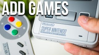 ADD GAMES to SNES Classic Mini with Hackchi2 HACK! (2018 tutorial!)
