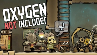 A RIMWORLD LIKE GAME With A Don't Starve Feel - Oxygen Not Included Gameplay Highlights Part 1