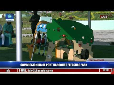 Commissioning Of Port Harcourt Pleasure Park Pt. 3