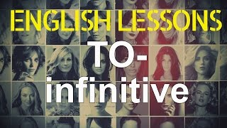 TO-infinitive, English grammar through movies | Hollywood English