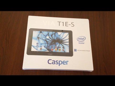 Casper Via Tab1 Kutu Açılımı