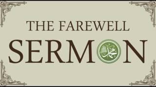THE FAREWELL SERMON