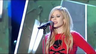 avril lavigne - when youre gone (live wetten dass 06-10-07)