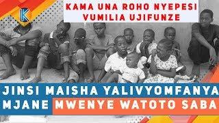 JINSI MAISHA YALIVYOMFANYA MJANE MWENYE WATOTO SABA