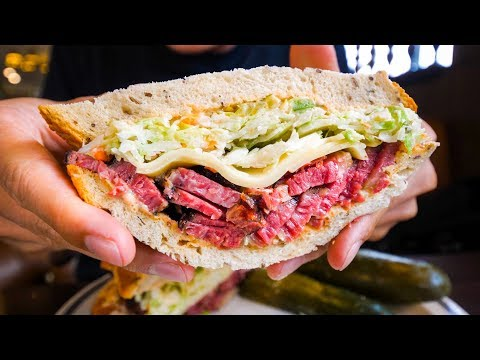 LA Historic Food Tour BEST PASTRAMI and PRIME RIB Top Restaurants in Los Angeles USA