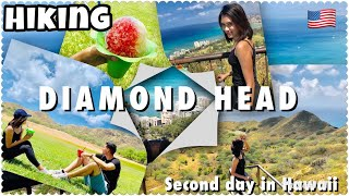 TREKKING/HIKING IN DIAMOND HEAD || Hawaii USA 2019 || Travel Vlog 2