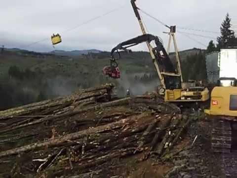 Yarder logging