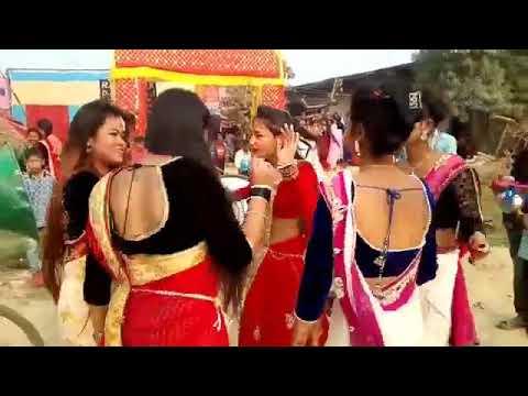 Tharu band baja dance in marriage