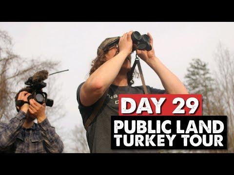 OHIO PUBLIC LAND TURKEY HUNTING! - Public Land Turkey Tour Day 29