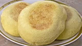 Moroccan Pita Bread -  Batbout Recipe -  Vegan Vegetarian
