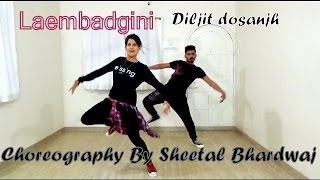 Laembadgini Song Dance Choreography Punjabi-Hip hop | Diljit Dosanjh | Latest Punjabi Song 2017