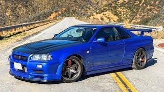 Nissan R34 Skyline GTR - One Take