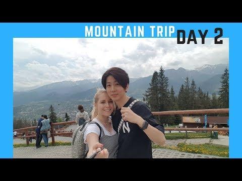 MOUNTAIN TRIP day 2 - AMWF family VLOG