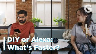 What's Faster? Asking Alexa or using your phone?