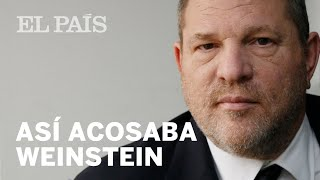 Así acosaba Harvey Weinstein   Internacional