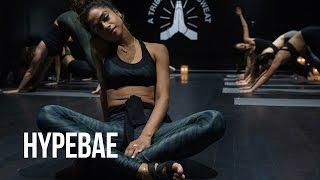 Vashtie Visits Hip-Hop Yoga Studio Y7