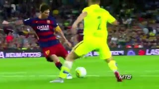Lionel Messi incredible skills - assists and goals 2015 2016 season