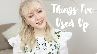 EMPTY PRODUCTS | THINGS I