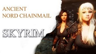 SKYRIM - Sexy Armors: Ancient Nord Chainmail / Bouncing Boobs