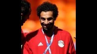 Mohamed Salah on bench for Egypt