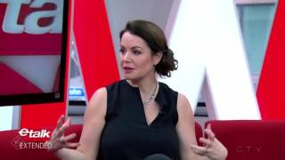 Interview: Erica Durance on eTalk Promoting Saving Hope Season 5