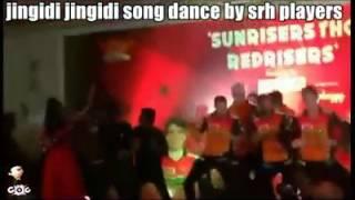 SRH team dance Jingidi Jingidi