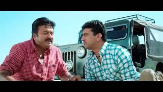 Manthrikan Malayalam Movie | Jayaram accidentally hit Poonam Bajwa | Ramesh Pisharody