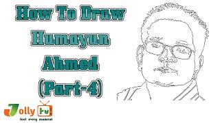 Humayun Ahmed - Draw Humayun Ahmed(Part-4)