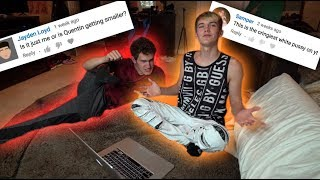 READING OUR MEAN COMMENTS... *emotional*