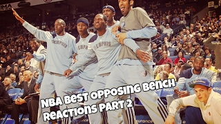 NBA Best Opposing Bench Reactions PART 2